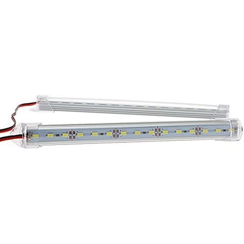 KKmoon Par LED Tubo de Lámpara Bar Luz Interior 12-86V para Coche Camión Caravana
