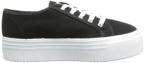 No Box  Alma,  Sneaker donna Nero (Noir (Black))