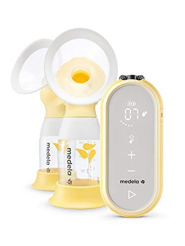 Medela Tiralatte Elettrico Doppio Freestyle Flex con Caricatore USB e Bluetooth