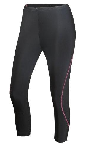 GetYourselfFitter femmes-Corsaire de course à pied pour femme Longueur 3/4 Pantalon de sport noir - Noir