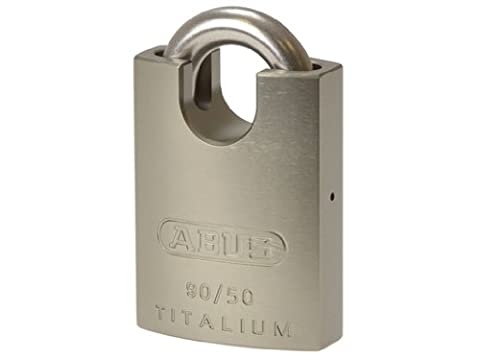 Abus 55292 90RK/50 Titalium Padlock Close Stainless Steel Shackle by 55292