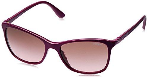 Vogue Gradient Shield Women's Sunglasses - (0VO5184SI23651457|57|Pink Gradient Brown Color) image