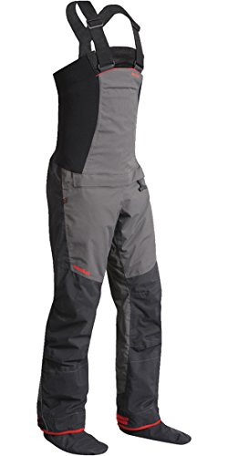 2017 Nookie Pro Bib Double Waist Dry Trousers in Charcoal Grey TR12 Size - - Small