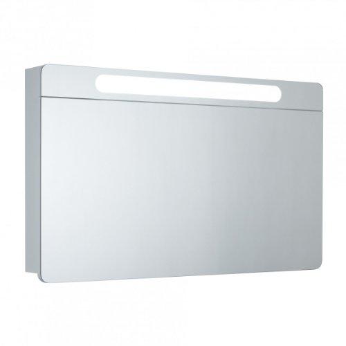 Spiegelschrank Eintürig - Badezimmerschrank von Galdem 100 cm