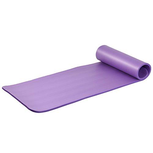 Asvert Colchoneta de Yoga de NBR Ecológica 183 x 61 x 1.5cm Esterilla