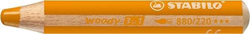 Stabilo Multitalentstift woody 3 in 1, rund, orange