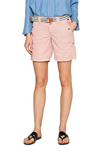 edc by ESPRIT Damen 039CC1C002 Shorts, Rosa (Old Pink 680), W36(Herstellergröße: 36)