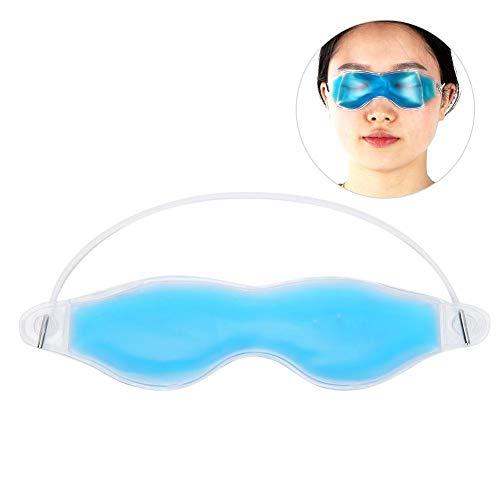 Antifaz reutilizable para dormir, relajante y caliente, alivio de la presión, para los ojos, calmar los ojos cansados, los círculos oscuros eliminan la máscara de ojos