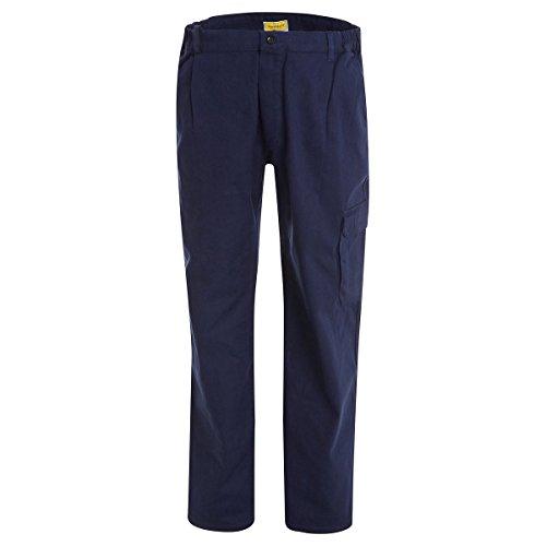 WORK AND STYLE Hose Mit Mehreren Taschen - Classico Winter Marineblau, 62