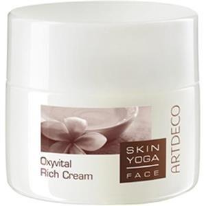 Artdeco Skin Yoga Face femme/woman, Oxyvital Rich Cream, 1er Pack (1 x 50 ml)
