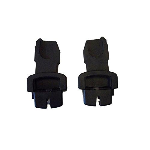 VITAL INNOVATION Adaptateur pour Siège Auto Oyster sur Poussette Oyster Max et Oyster 2 ( Niveau Haut) Noir