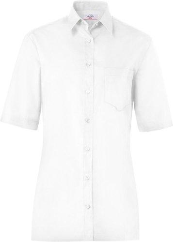 GREIFF Bluse CLASSIXX, kurzarm (48, weiß)