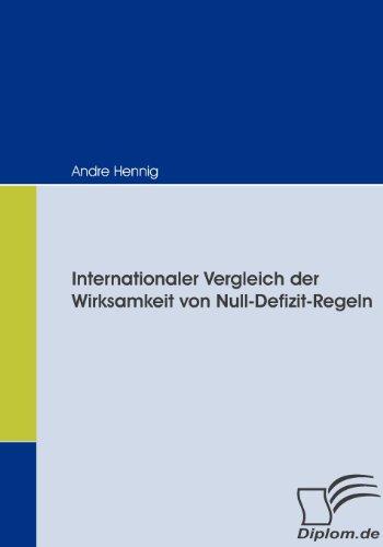 Internationaler Vergleich der Wirksamkeit von Null-Defizit-Regeln