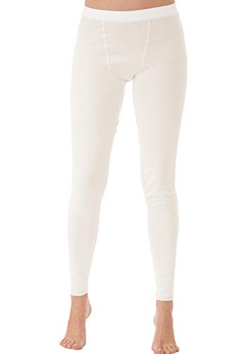 Trigema Trigema Damen Lange Funktions-unterhose - Base Layers De Sport - Mixte Weiß (weiß 001)