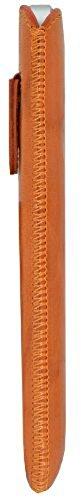Suncase ® 42413355 Étui pour iPhone 5 de style vintage - Marron foncé Washed-Orange
