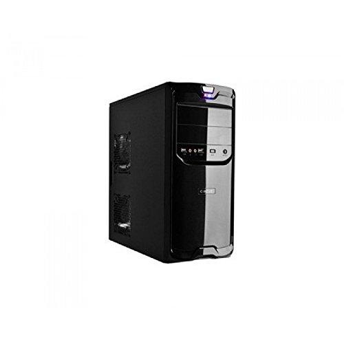 Circle Desire D1 Desktop Cabinet with SMPS (Black)