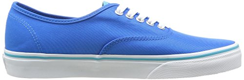 Vans U Authentic Rainbow, Baskets mode mixte adulte Bleu (Neon Blue)