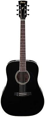 Ibanez - Pf15 bk guitarra acústica