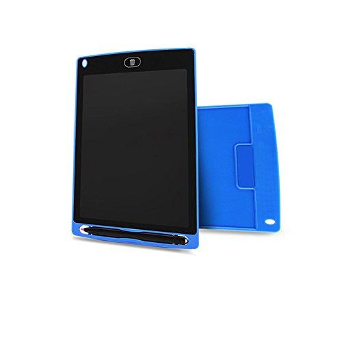 Preisvergleich Produktbild GETIT72 LCD-Schreibtafel Tablet,  21, 6 cm (2, 5 Zoll) Display,  hohe Leuchtkraft,  tragbares Zeichentablet,  elektronisch,  ultradünn,  LCD-Handschrift,  Draft-Pads für Kinder,  Zuhause,  Schule,  Büro (blau)