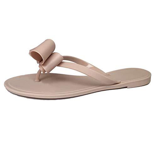 HCFKJ Sandalias Mujer Verano 2019 Zapatos Planos De