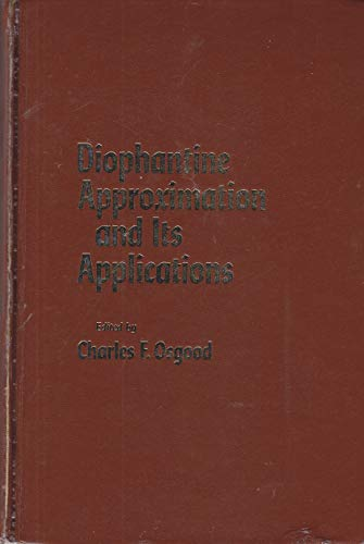 Diophantine Approximation and Its Applications