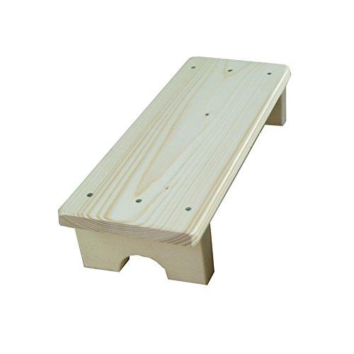 WZLDP Ménage en Bois Tabouret Pliant échelle de Maison Tabouret escabeau Tabouret de Levage Chaise Pliante Tabouret Multifonctionnel Cuisine Banc Haut Ladder (Couleur : #1, Taille : 80 * 20 * 16cm)