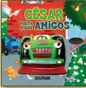 Cesar visita a sus amigos/Cesar visits his friends (Tractores/Trucks)