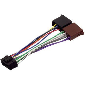 HQ - Cable conector adaptador ISO radio coche Sony