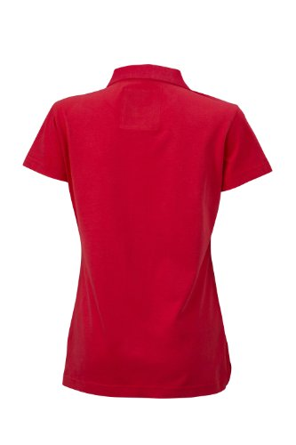 James & Nicholson - Polo Ladies' Vintage, Polo Donna Rosso (Red)