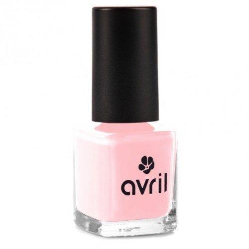 AVRIL - Esmalte Vegano sin Productos Químicos - Rosa Francés 88 - Fácil Aplicación, Sin Experimentación Animal - 7 ml