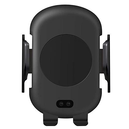 BECROWMEU Sensore per auto a infrarossi 10W Veloce Wireless Qi Caricatore auto Supporto per bocchetta dell'aria