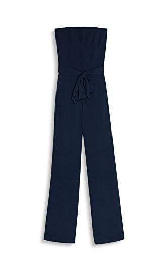 ESPRIT Collection Damen Jumpsuit 067EO1L003, Blau (Navy 400), 36 - 3