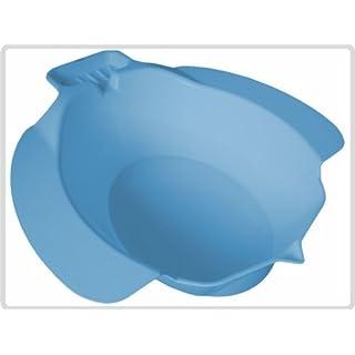 Bidet Bidetbecken Sitzbad Sitzbecken Sitzwanne Einsatz-Bidet Kunststoff, blau