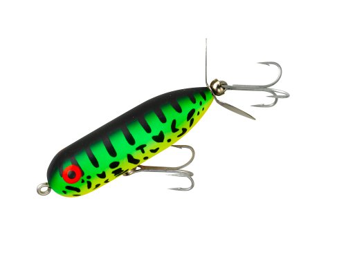 Heddon Baby Torpedo, Fluorescent Green Crawdad. (Bend Fishing South Tackle)