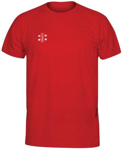 GRAY-NICOLLS Herren Matrix Short Sleeve T-Shirt XS rot Preisvergleich