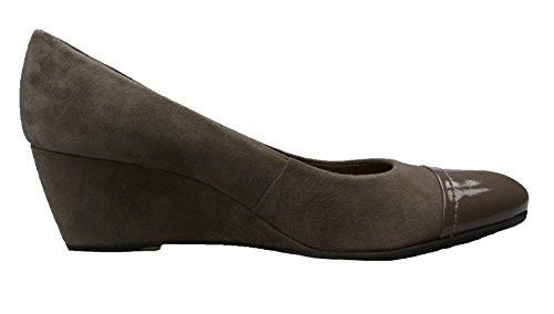 GEOX Damen Keilpumps D VENERE W Dove Grey D13P8S 02167 C1018 DO-250 (Gr. 39)