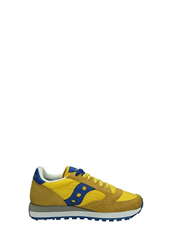 Saucony JAZZ Sneakers Bassa Donna Giallo Blu