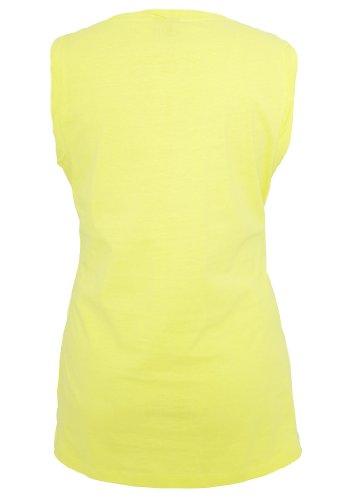 Urban Classics - Débardeur - Femme Jaune - Yellow - Yellow