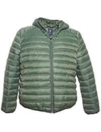 online store c2921 98b35 Amazon.it: piumino uomo 100 grammi - Verde / Uomo: Abbigliamento