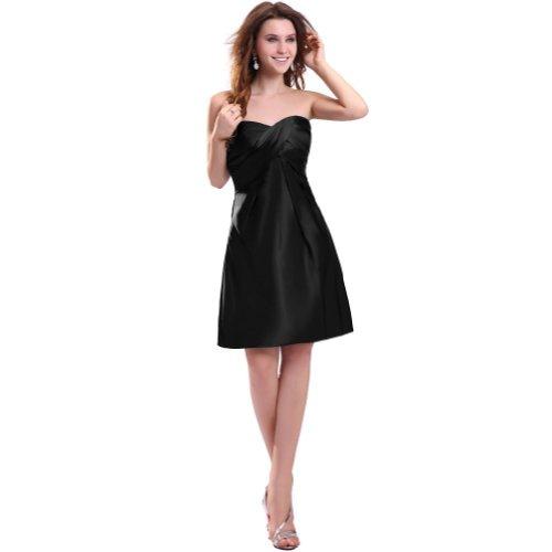 Lemandy - Robe -  Femme Noir - Noir