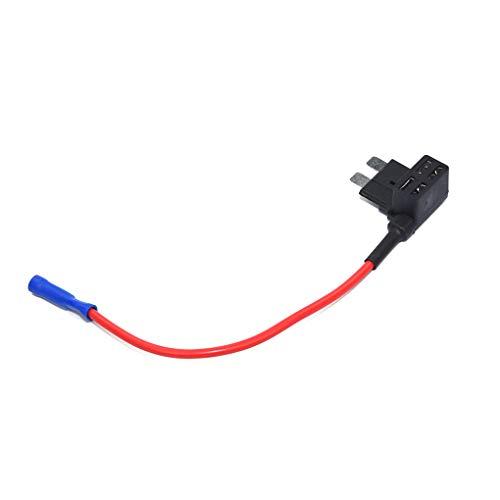 Lorsoul 3PCS / Set 7.5A 12V Auto-Add-a-Schaltung Sicherung Adapter Sicherungshalter GPS Navigator Zigarettenanzünder Tool Kits hinzugefügt Gps-navigator Kit