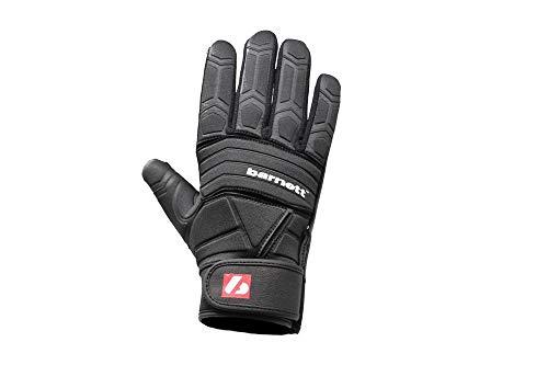 BARNETT FLG-03 American Football Handschuhe Linemen Profi, OL,DL, schwarz (2XL)
