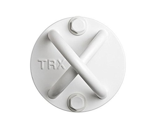TRXTraining - X-Mount, Schaffen Sie Fast überall eine robuste und unauffällige Halterung mit diesem Ankerpunkt (Weiß)