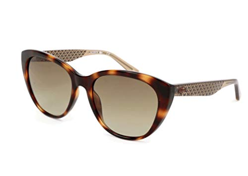 Lacoste Damen L832S Sonnenbrille, Braun, 54 (Sonnenbrillen Lacoste Mann)