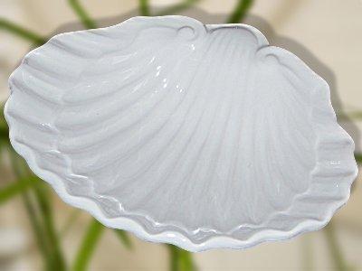 Seifenschale Flair Seifenablage Muschel aus Keramik mittel