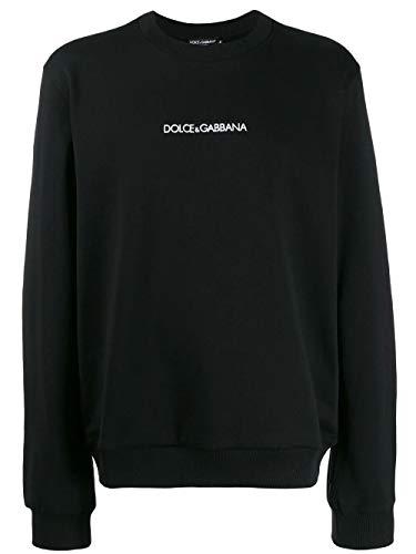 DOLCE E GABBANA Herren G9ov3zfu7dun0000 Schwarz Baumwolle Sweatshirt