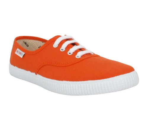Victoria Inglesa Lona Unisex - Erwachsene Sneaker Orange