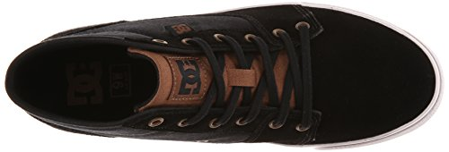 Dc Shoes Tonik Mid W J, Baskets mode femme Noir (Black)