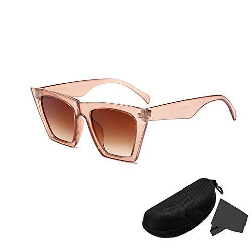 67b62f1c9e LYworld Gafas De Sol Polarizadas Retro Gafas de sol para Hombre y Mujer  Reflexivo Espejo Anteojos