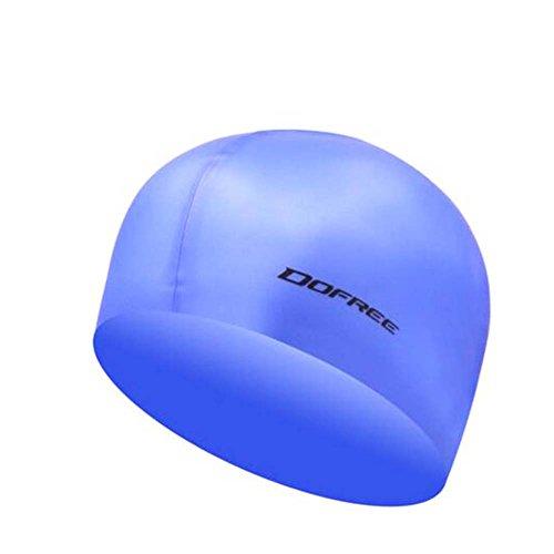 Black Temptation Professionelle spezielle Silikon-Schwimmen-Kappe ungiftige Silikon-weiche Schwimmen-Kappe, A 2